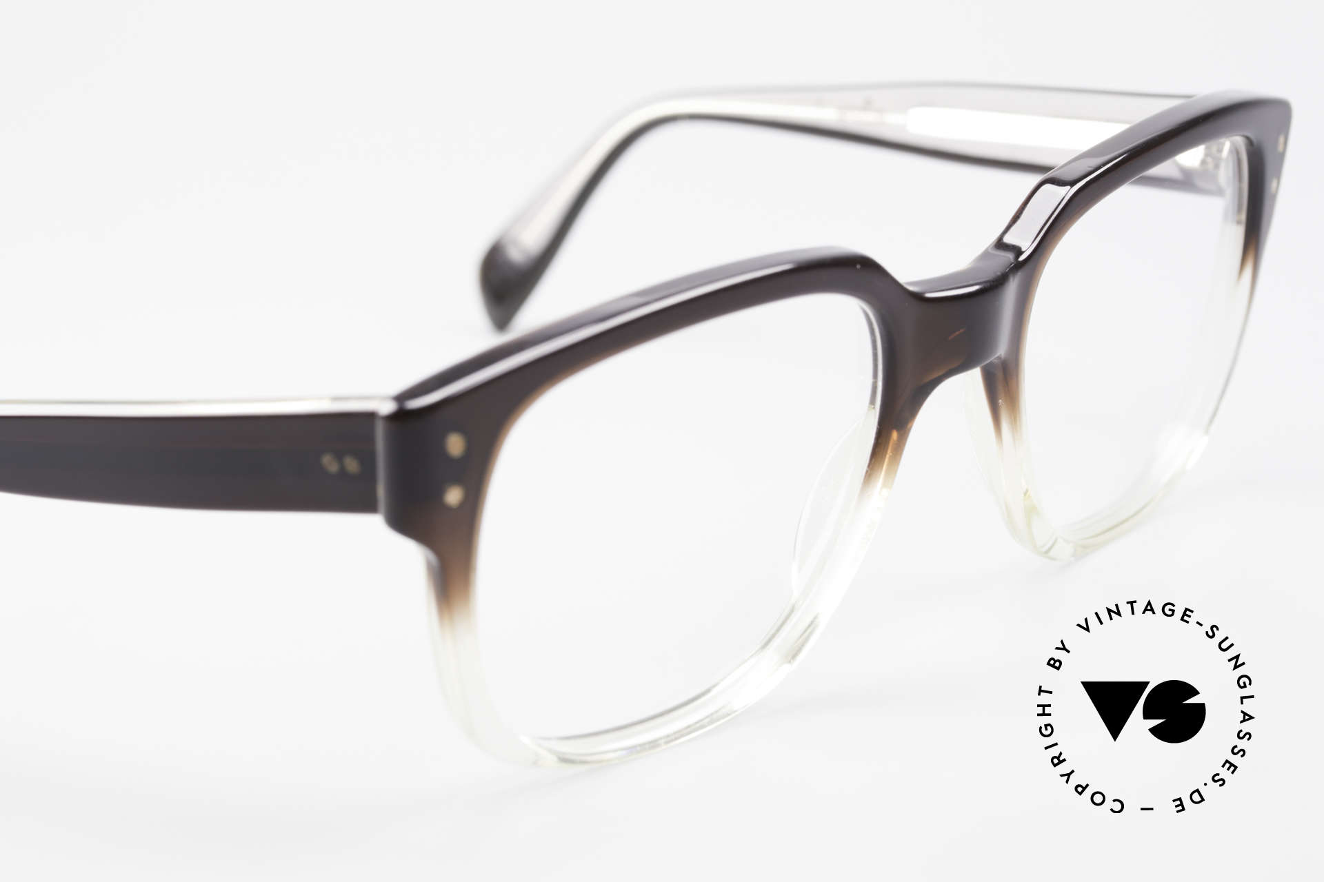 Metzler 447 Vintage Brille Nerd Hipster, KEINE Retrobrille, sondern ein seltenes altes Original, Passend für Herren