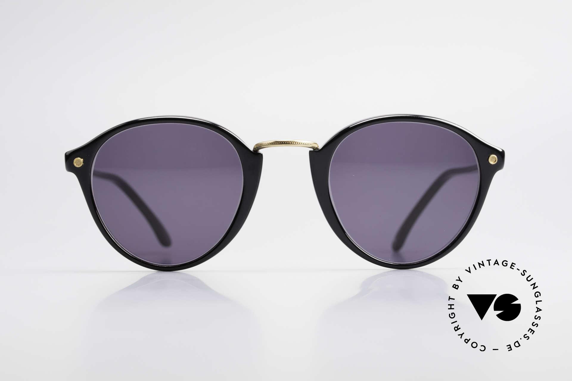 Cutler And Gross 0249 Panto Sonnenbrille Vintage, klassisch, zeitlose Understatement Luxus-Sonnenbrille, Passend für Herren und Damen