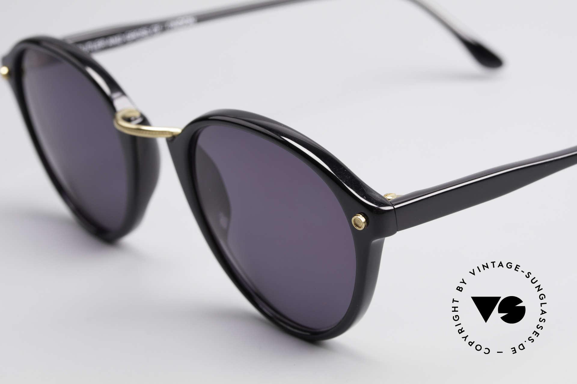 Cutler And Gross 0249 Panto Sonnenbrille Vintage, Materialien und deren Verarbeitung auf Spitzen-Niveau, Passend für Herren und Damen
