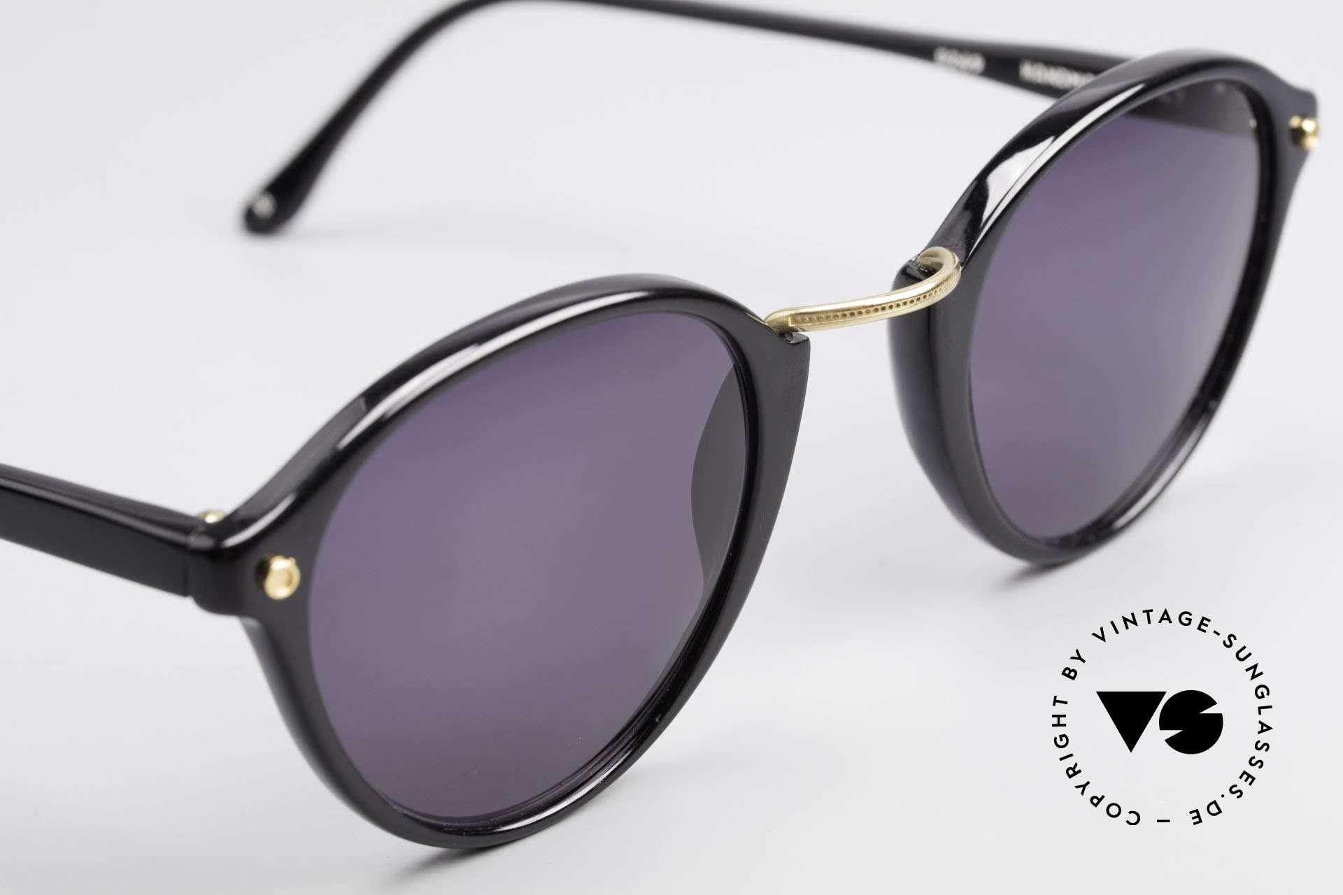 Cutler And Gross 0249 Panto Sonnenbrille Vintage, KEINE Retrobrille, sondern ein 20 Jahre altes Original!, Passend für Herren und Damen