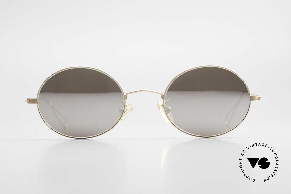 Cutler And Gross 0305 Sonnenbrille mit Sonnenclip