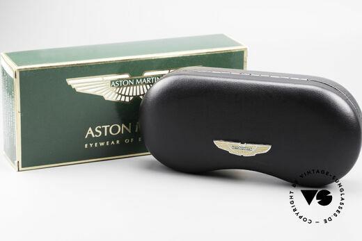 Aston Martin AM02 Aviator Brille James Bond Style, ungetragenes Einzelstück in Gr. 57-14 (inkl. orig. Etui), Passend für Herren