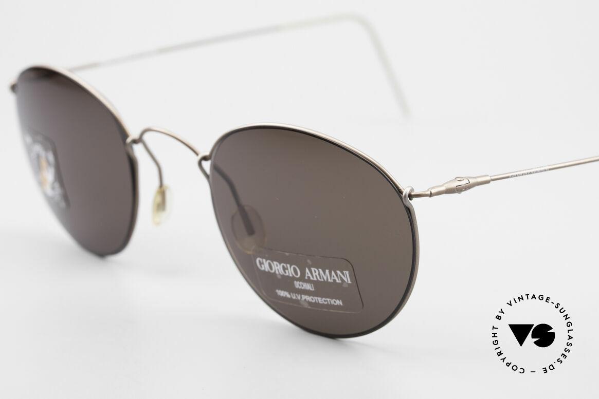 Giorgio Armani 3006 Vintage Drahtbrille Panto Stil