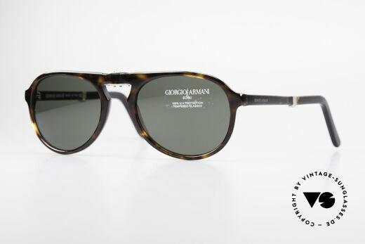 Giorgio Armani 2522 Faltbare Aviator Sonnenbrille Details