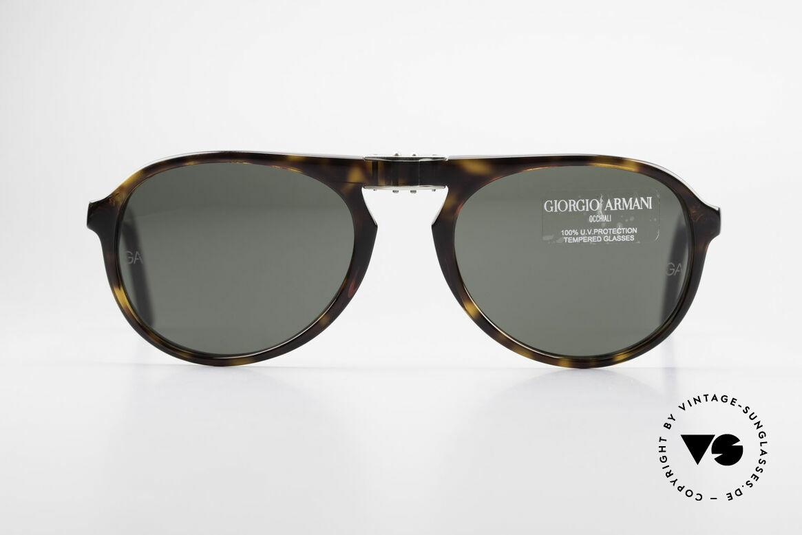 Giorgio Armani 2522 Faltbare Aviator Sonnenbrille