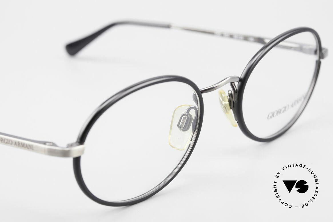 Giorgio Armani 235 Ovale Vintage Brille Unisex, ungetragen (wie alle unsere 80er Jahre DesignKlassiker), Passend für Herren und Damen