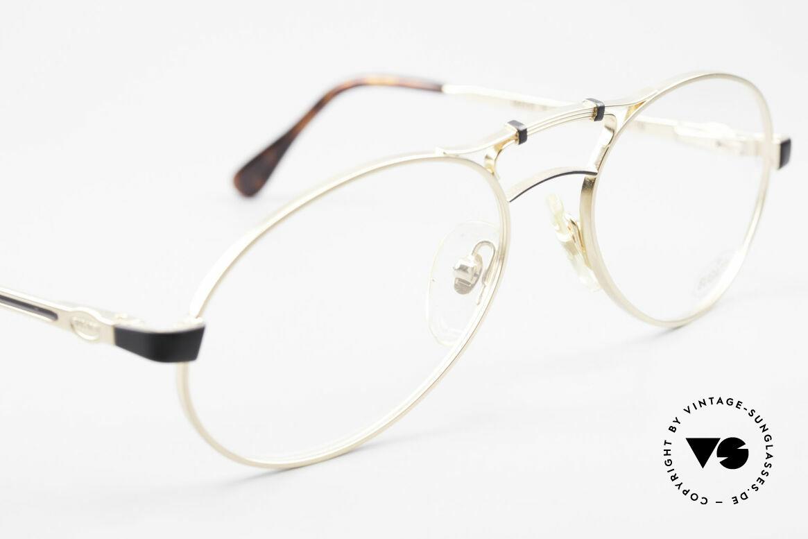 Bugatti 13411 Vintage Herrenbrille Luxus, ungetragen (wie alle unsere VINTAGE Bugatti Brillen), Passend für Herren
