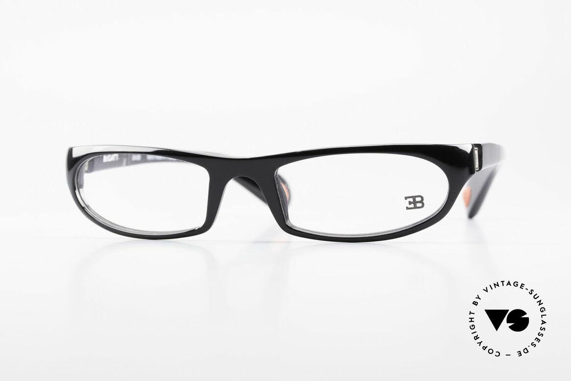 Bugatti 325 Odotype Rare Herren Designer Brille, sportliche high-tech Herrenbrille von Bugatti, Passend für Herren