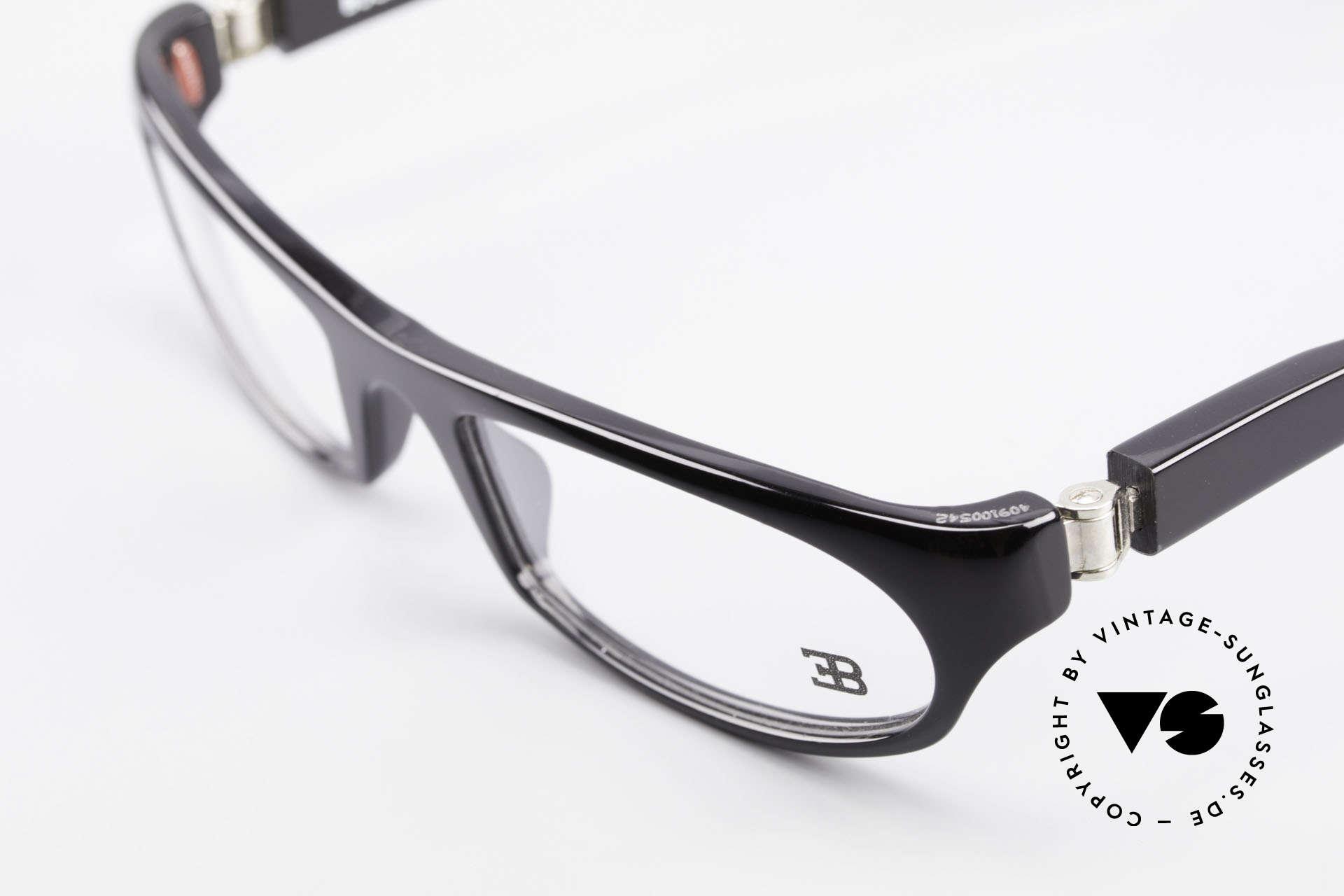 Bugatti 325 Odotype Rare Herren Designer Brille, sehr spezielle Glaseinfassung & Top Komfort, Passend für Herren