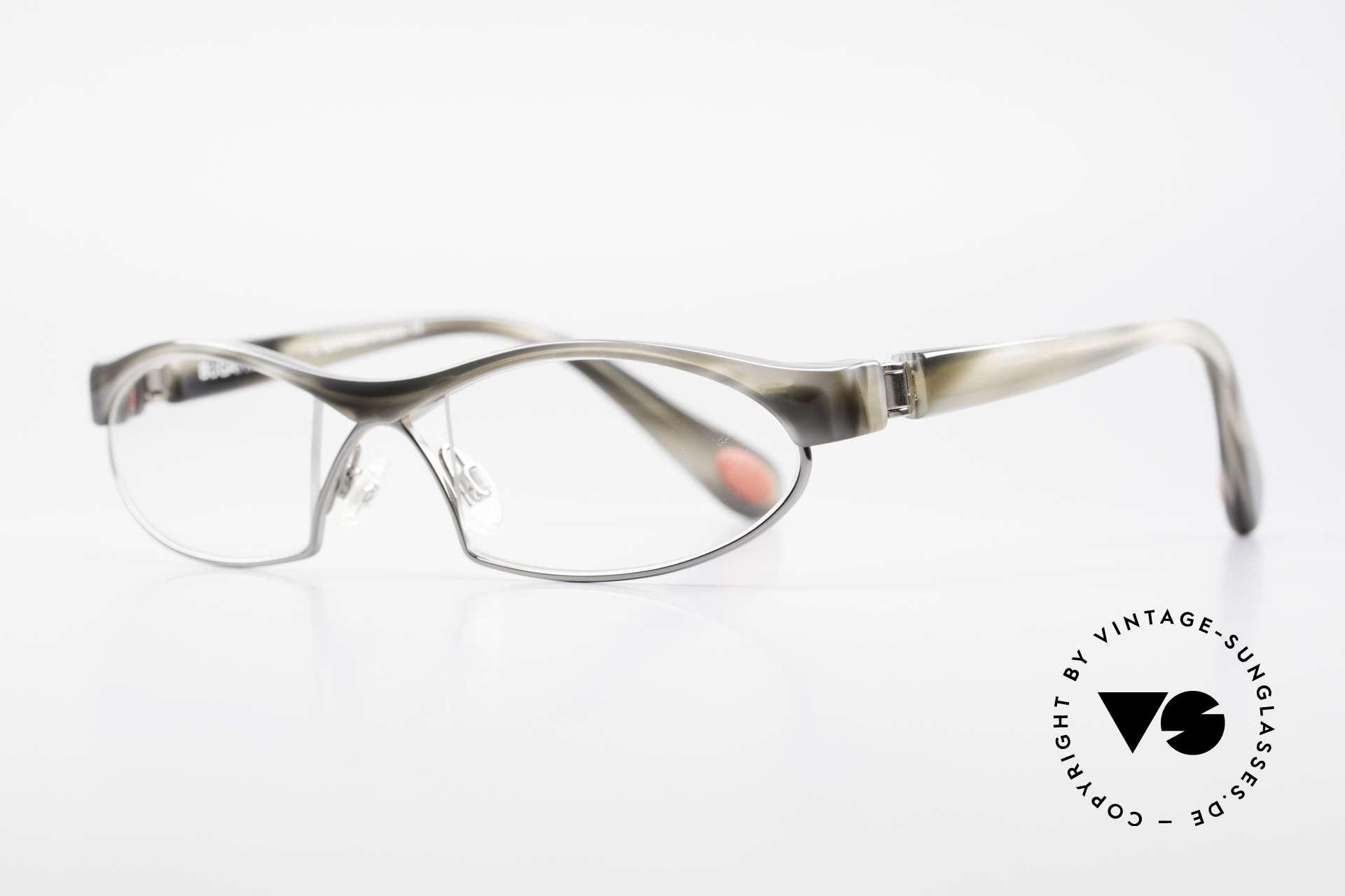 Bugatti 370 Odotype Luxusbrille Horn Optik Herren, ergonomischer Rahmen mit 180°-Scharnieren, Passend für Herren