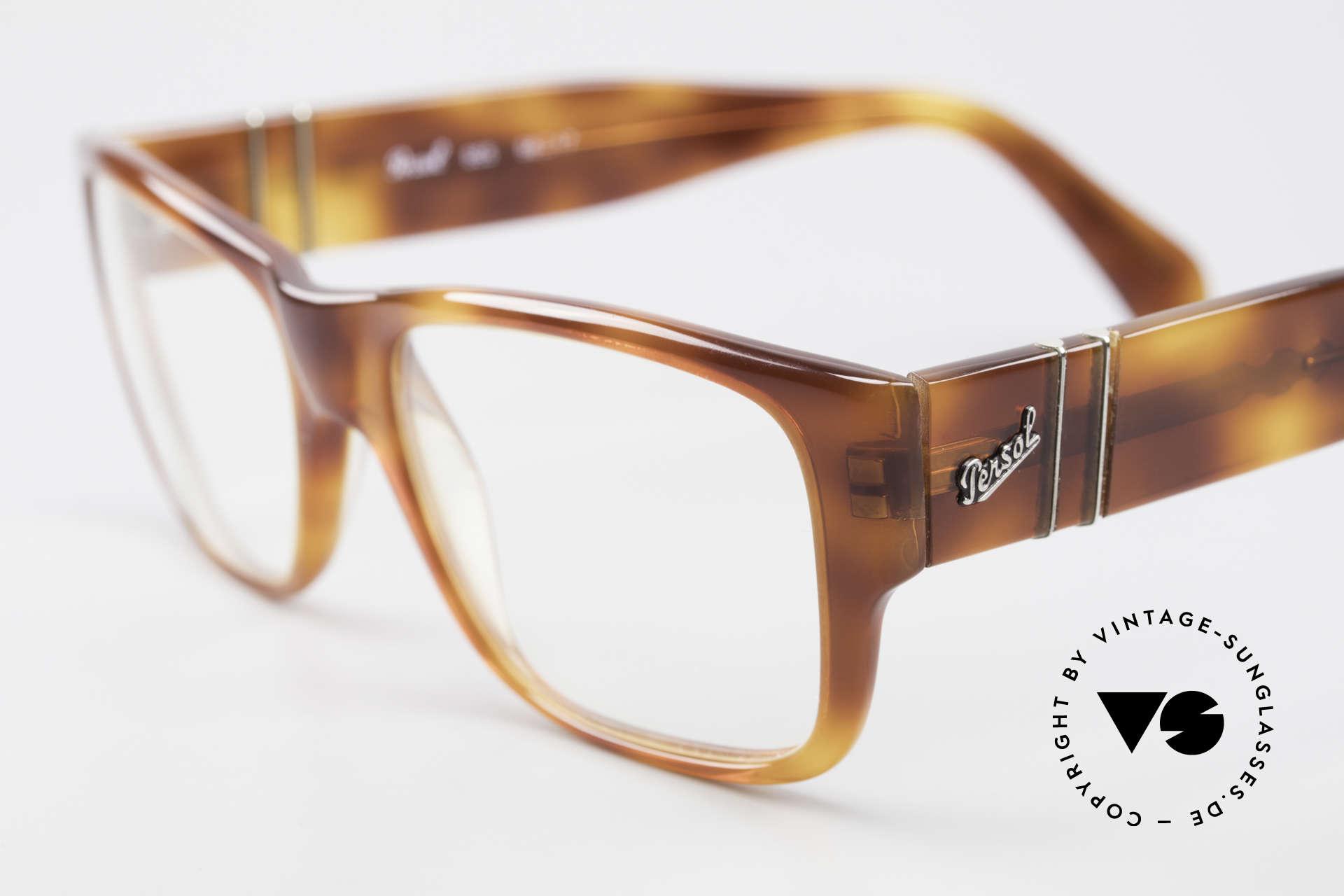 Persol 855 Markante Herren Vintage Brille, ungetragen (wie all unsere vintage Persol Brillen), Passend für Herren