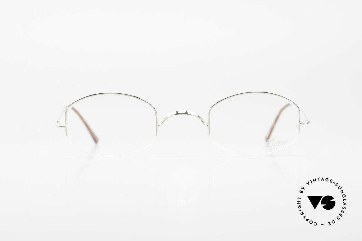 Lunor String Halb Randlose Vintage Brille