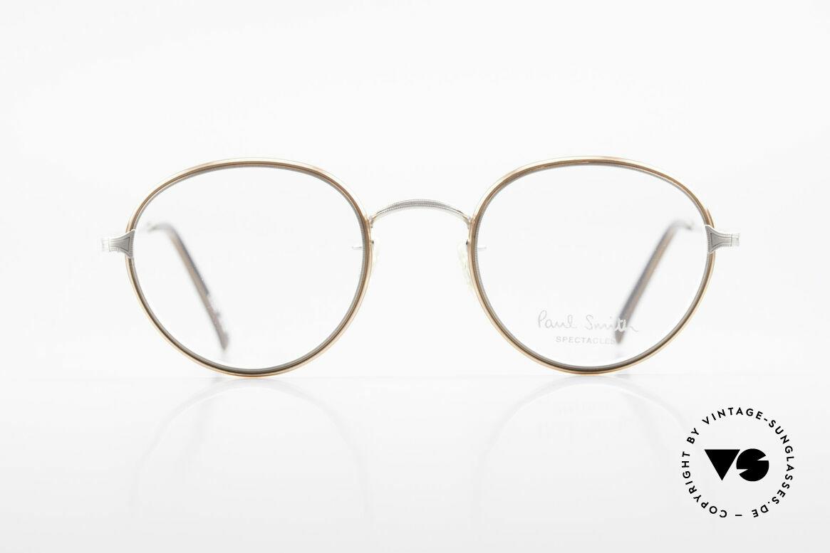 Paul Smith PSR109 Alte Pantobrille Made in Japan, aus einer Zeit bevor PS Brillen Lizenzprodukte wurden, Passend für Herren