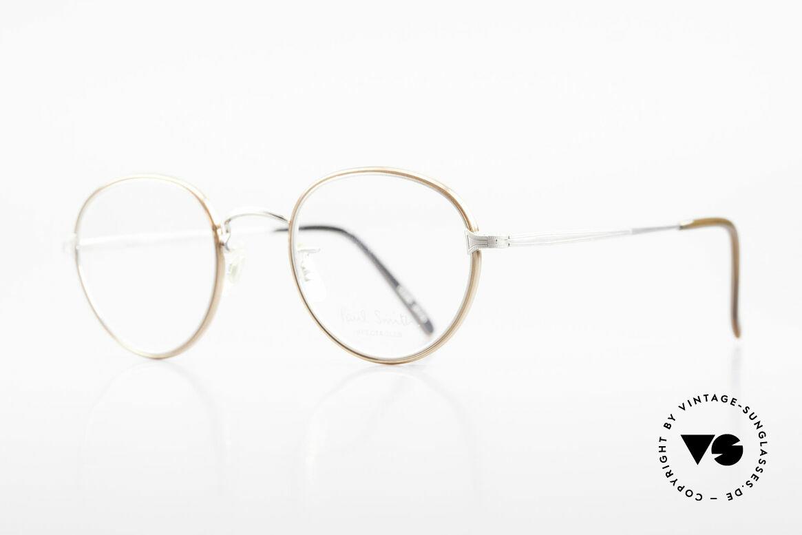 Paul Smith PSR109 Alte Pantobrille Made in Japan, dieses alte Paul Smith Original ist noch 'made in Japan', Passend für Herren