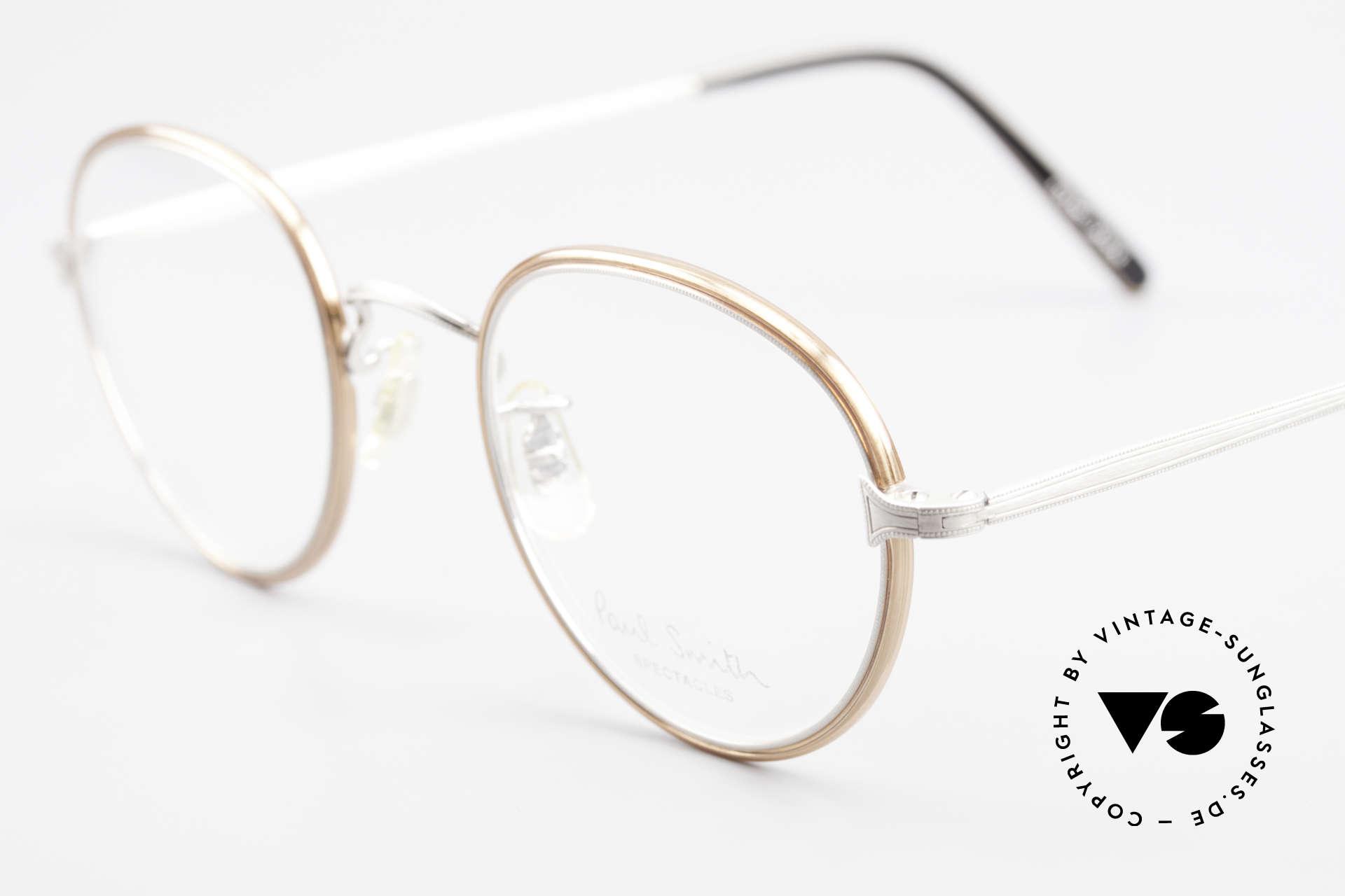 Paul Smith PSR109 Alte Pantobrille Made in Japan, zeitloses Design und absolut erstklassige Verarbeitung, Passend für Herren