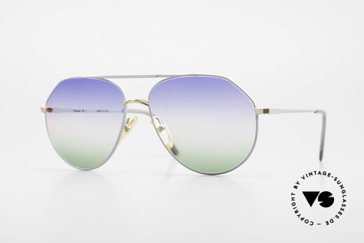 Casanova 6052 Titanium Aviator Sonnenbrille Details