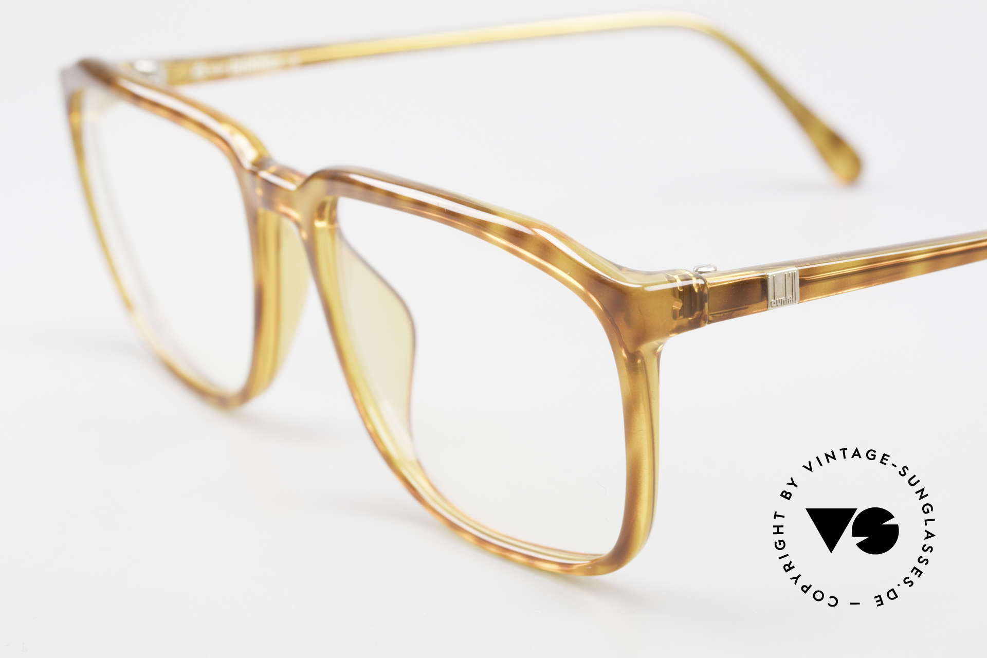 Dunhill 6133 Vintage Optyl Herrenbrille, daher sehr angenehm zu tragen (muss man fühlen), Passend für Herren