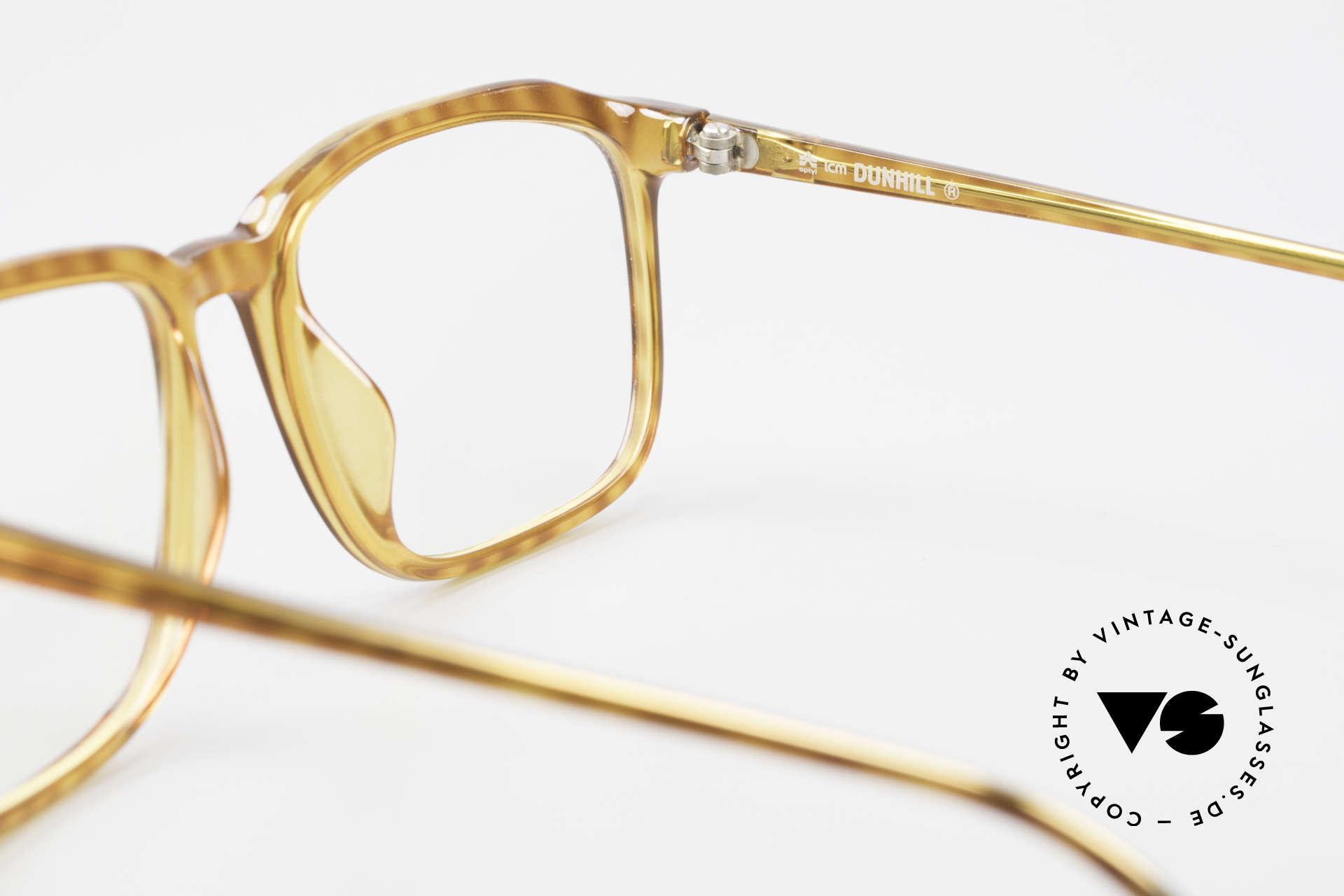 Dunhill 6133 Vintage Optyl Herrenbrille, KEINE Retrobrille, sondern ein 28 Jahre altes Unikat!, Passend für Herren