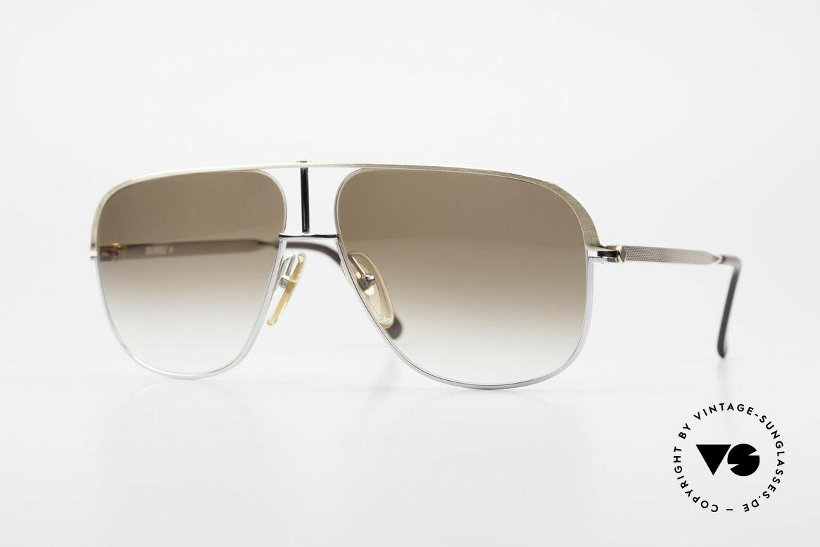 Dunhill 6019 80er Gentleman Luxus Brille, premium vintage A. Dunhill Sonnenbrille von 1984, Passend für Herren