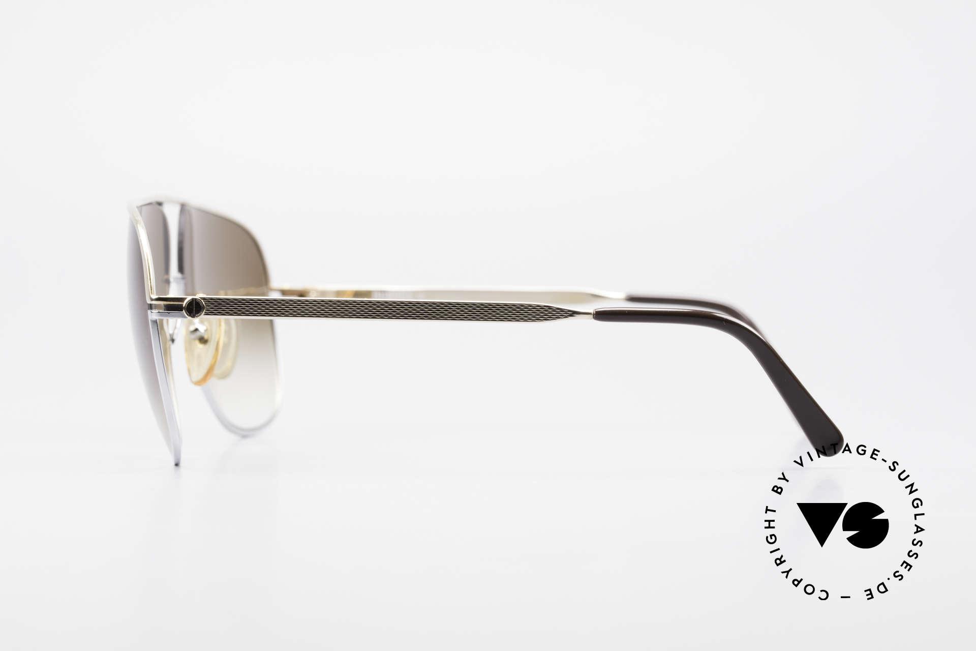 Dunhill 6019 80er Gentleman Luxus Brille, unglaublich komfortabel & solide; muss man fühlen!, Passend für Herren