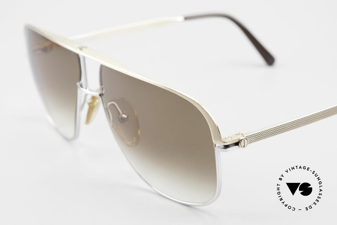 Dunhill 6019 80er Gentleman Luxus Brille, distinguiert kultiviert: ein wahres Gentleman Modell, Passend für Herren