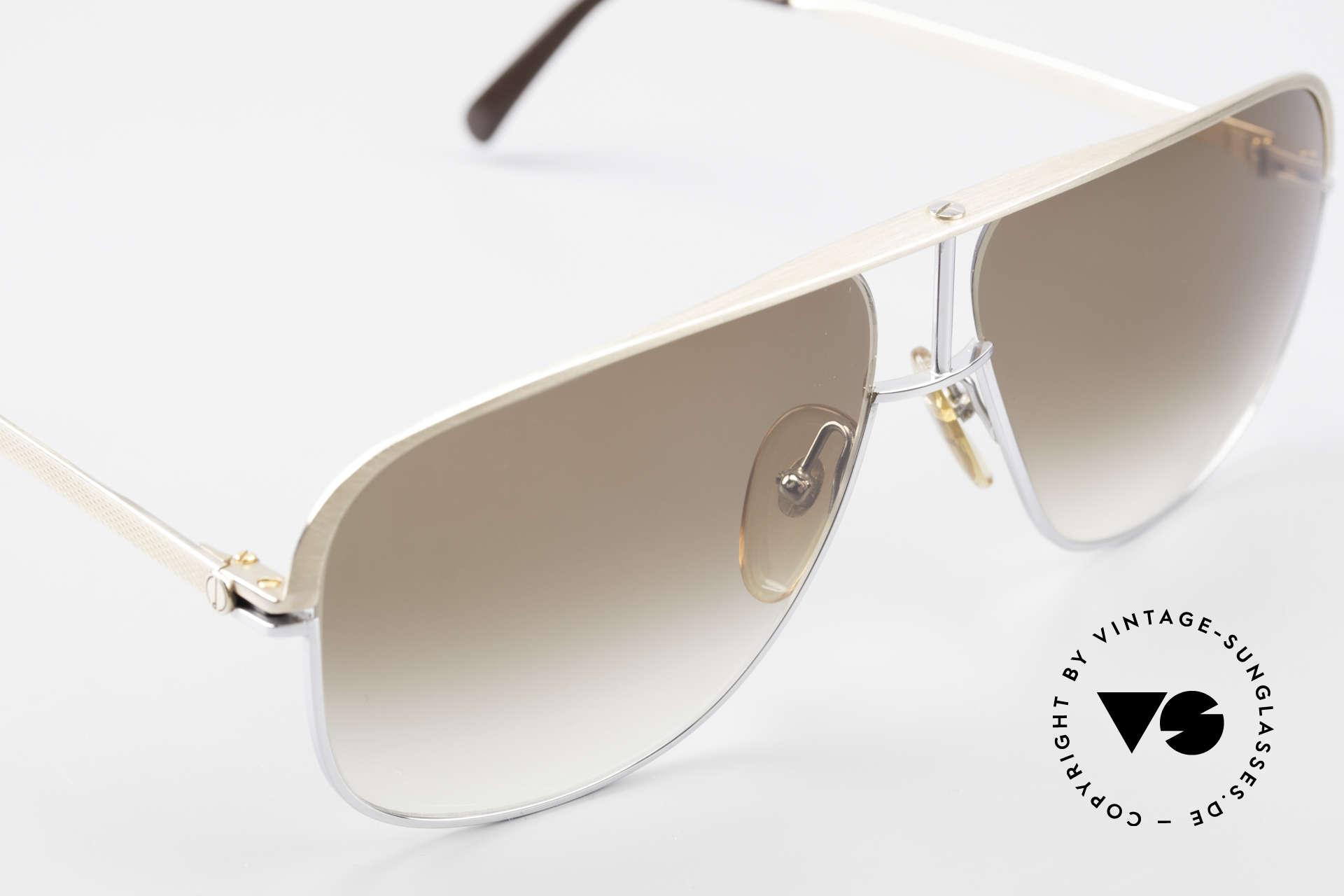 Dunhill 6019 80er Gentleman Luxus Brille, ungetragen (wie alle unsere vintage Dunhill Brillen), Passend für Herren