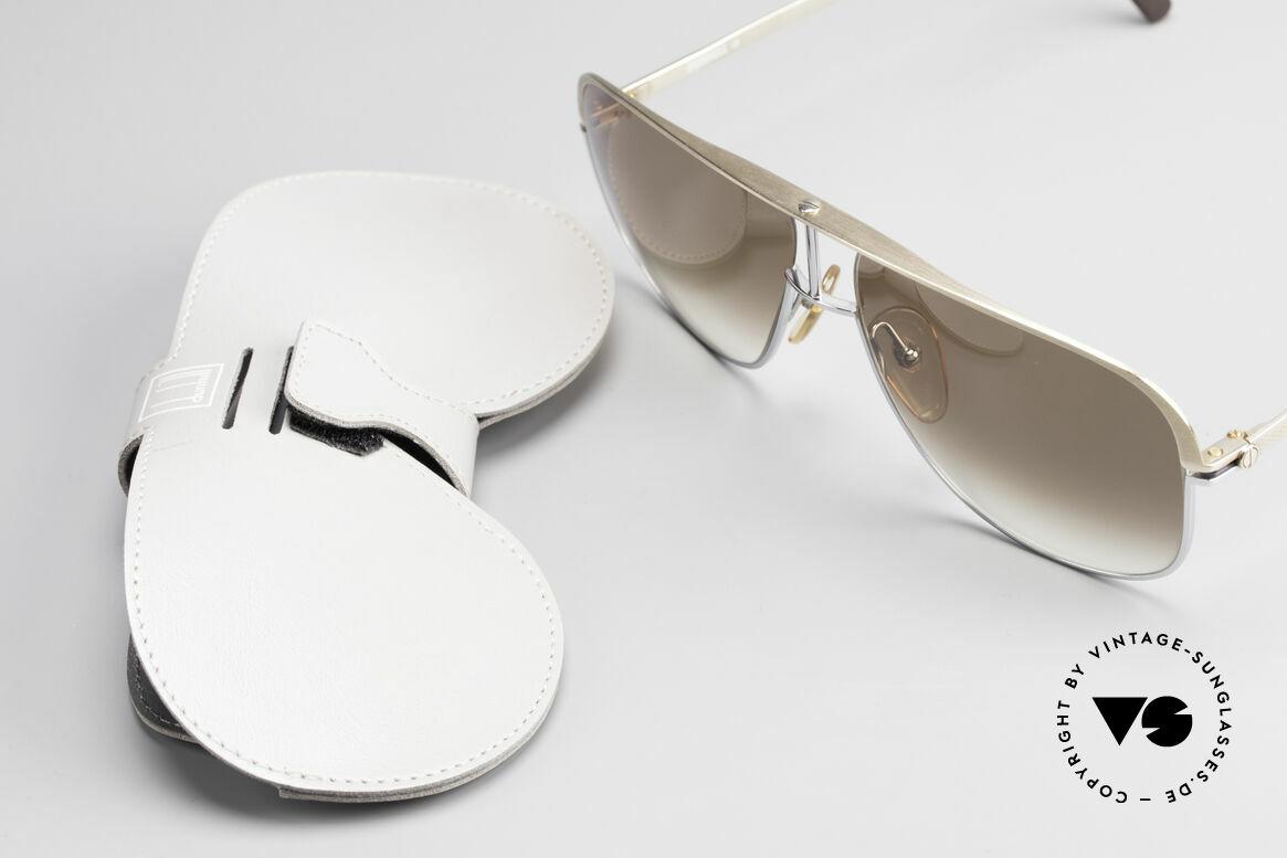 Dunhill 6019 80er Gentleman Luxus Brille, Größe: large, Passend für Herren