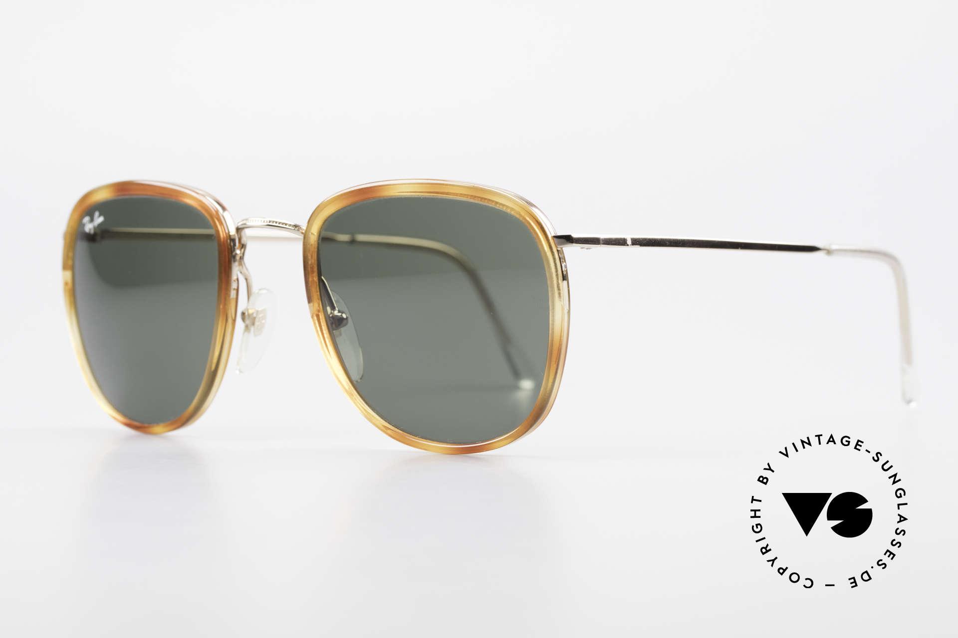 Ray Ban New Style Bausch & Lomb Italy Hybrid, sämtliche Komponenten von B&L (USA) produziert, Passend für Herren und Damen