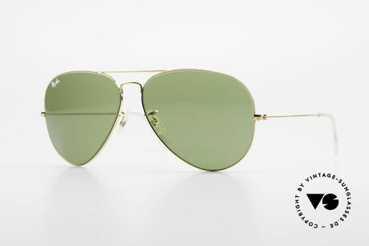 Ray Ban Large Metal II Alte Vintage Brille B&L USA Details