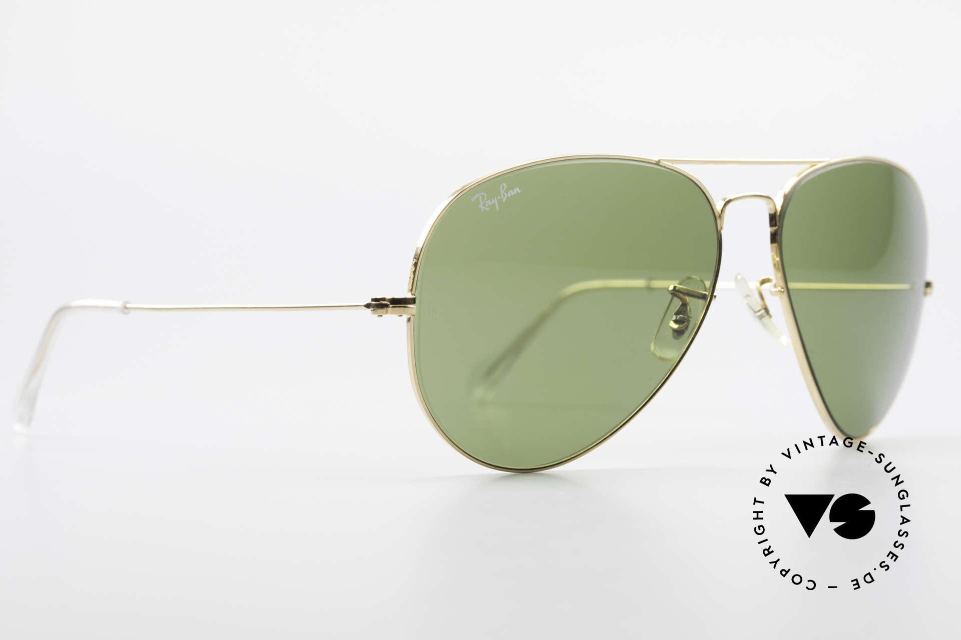 Ray Ban Large Metal II Alte Vintage Brille B&L USA, produziert in den 70ern & 80ern v. Bausch&Lomb, Passend für Herren