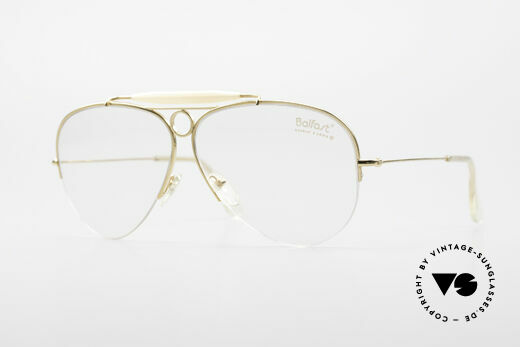 Ray Ban Balfast 809 Gold Doublé Vintage Brille Alt Details