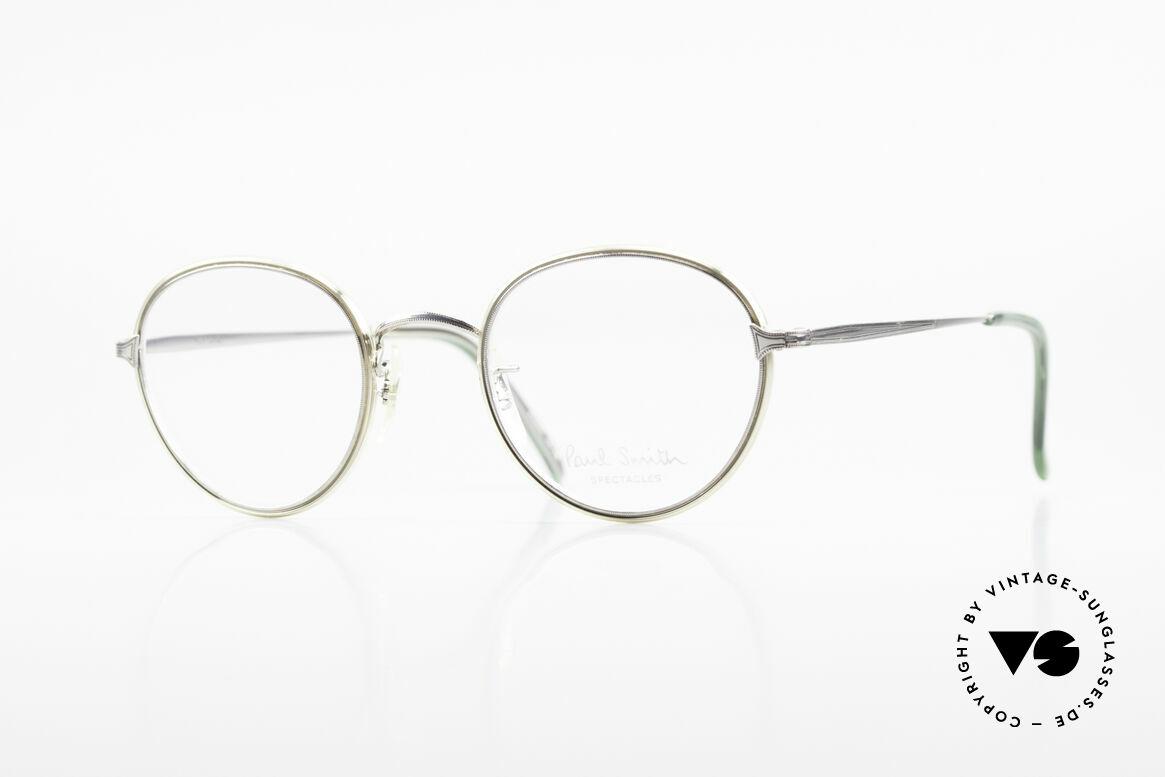 Paul Smith PSR109 80er Pantobrille Altes Original, Paul Smith vintage Brille der späten 80er / frühe 90er, Passend für Herren