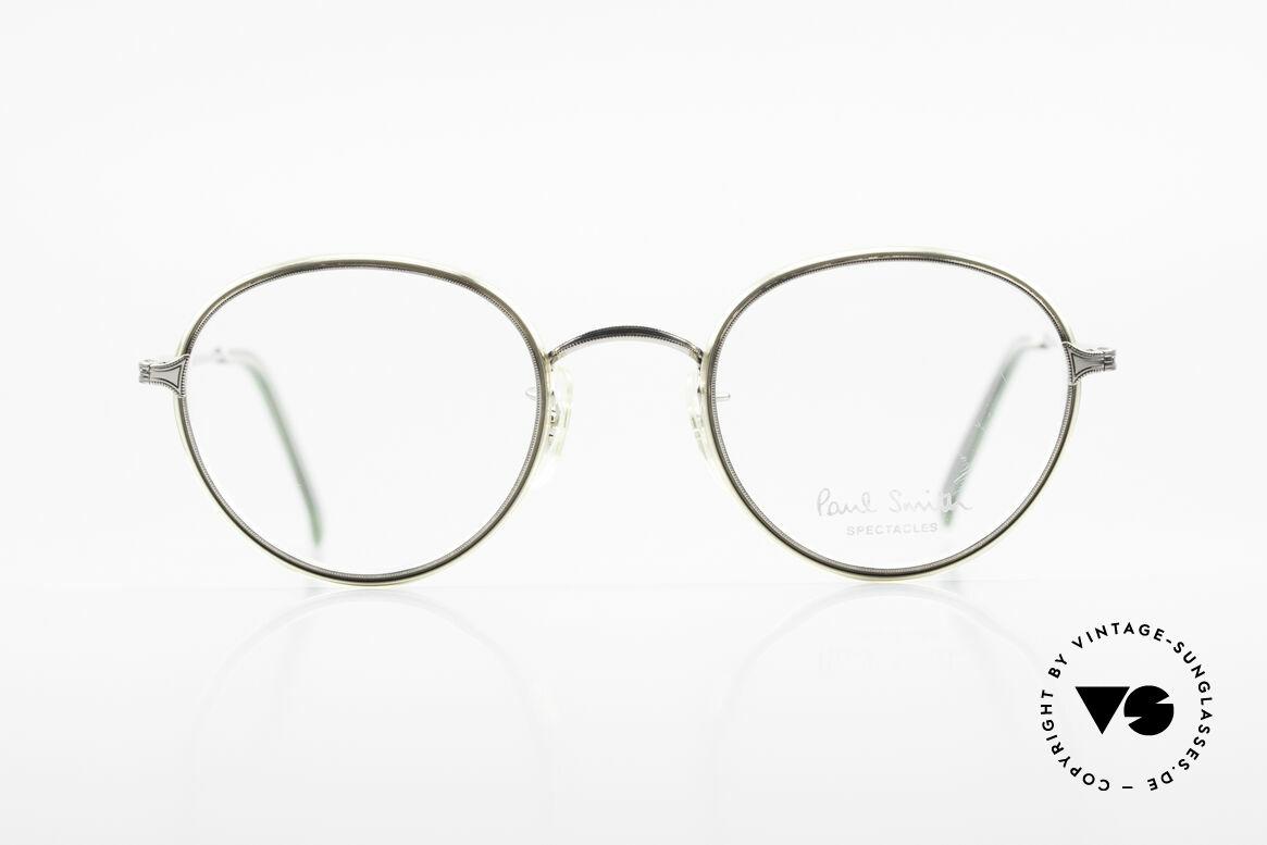 Paul Smith PSR109 80er Pantobrille Altes Original, aus einer Zeit bevor PS Brillen Lizenzprodukte wurden, Passend für Herren
