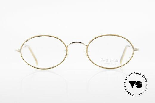 Paul Smith PSR108 Ovale Vintage Brille Mit Clip, Größe: small, Passend für Herren und Damen