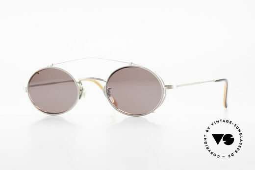 Paul Smith PS100 Ovale Vintage Brille Clip On Details