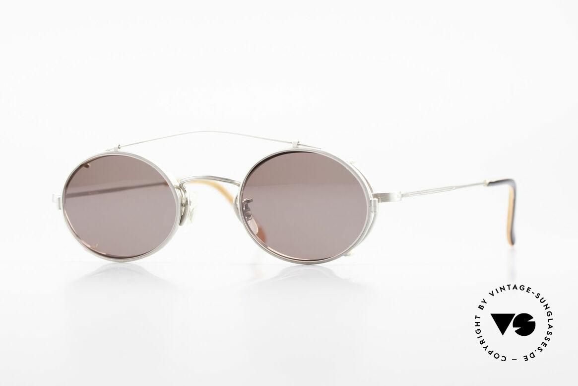 Paul Smith PS100 Ovale Vintage Brille Clip On, Paul Smith vintage Brille der späten 80er / frühe 90er, Passend für Herren und Damen