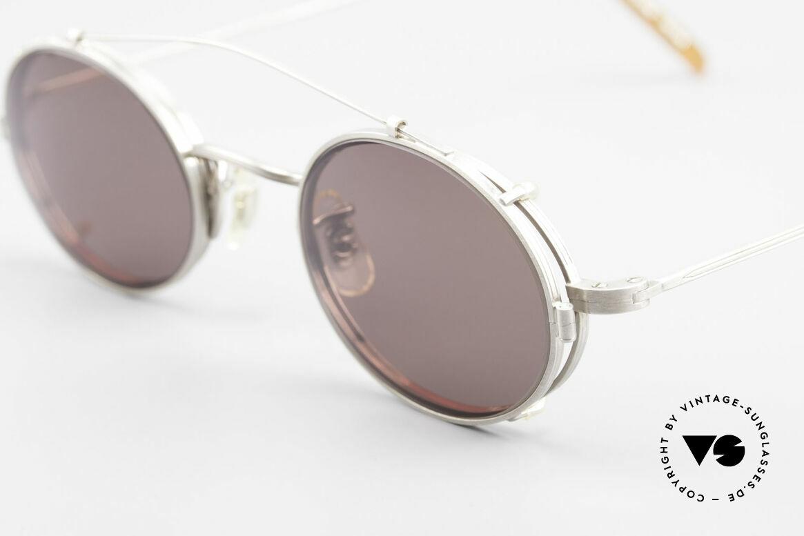 Paul Smith PS100 Ovale Vintage Brille Clip On, zeitloses Design und absolut erstklassige Verarbeitung, Passend für Herren und Damen