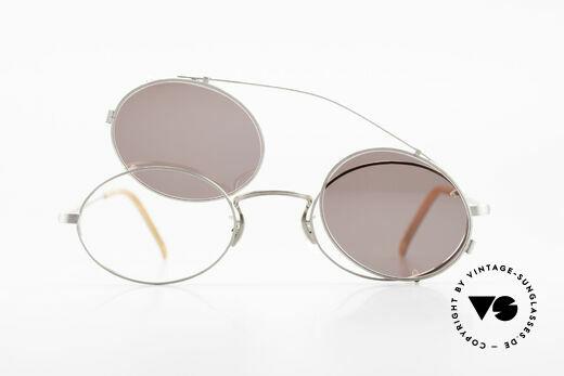 Paul Smith PS100 Ovale Vintage Brille Clip On, KEINE RETRO-BRILLE, sondern eine echte alte RARITÄT, Passend für Herren und Damen