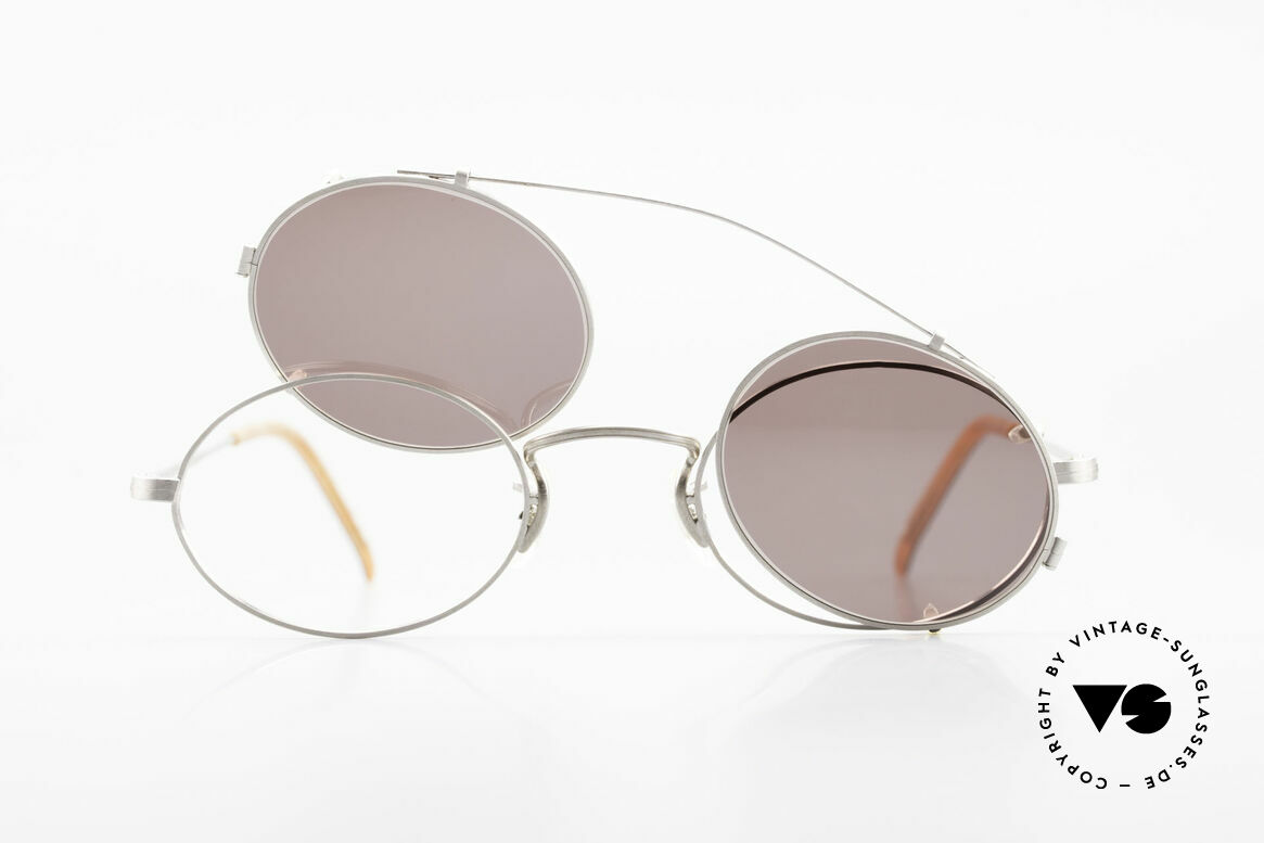 Paul Smith PS100 Ovale Vintage Brille Clip On