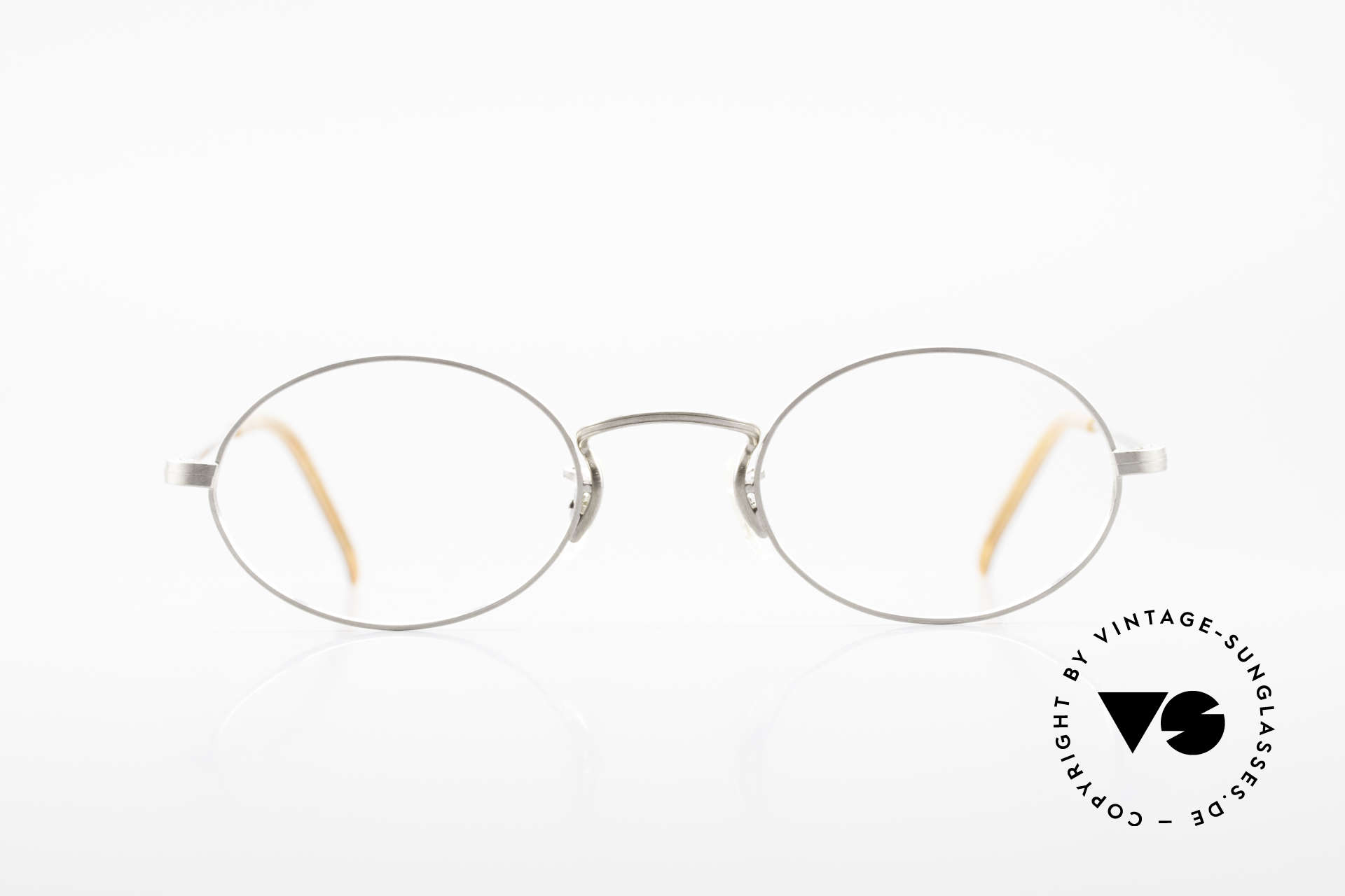 Paul Smith PS100 Ovale Vintage Brille Clip On, Größe: small, Passend für Herren und Damen
