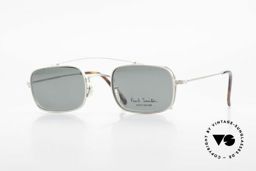 Paul Smith PS101 Eckige Vintage Brille Clip On Details