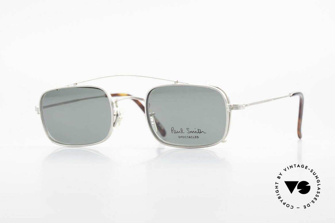 Paul Smith PS101 Eckige Vintage Brille Clip On