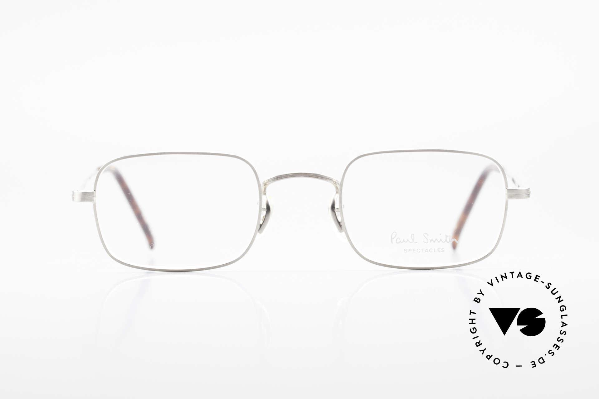Paul Smith PS101 Eckige Vintage Brille Clip On, Größe: medium, Passend für Herren und Damen