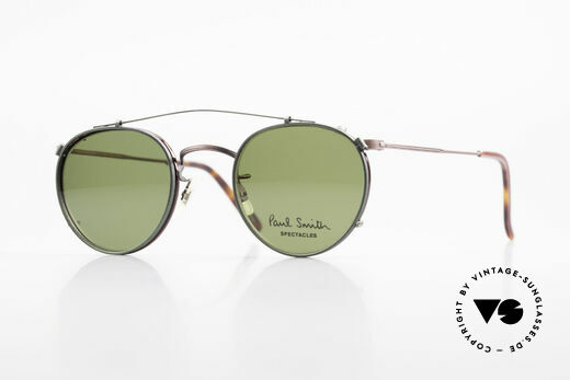 Paul Smith PSR102 Panto Vintage Brille Clip On Details