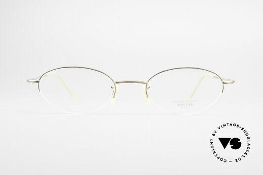 Oliver Peoples OP599 Ovale Vintage Brille Mit Clip, Größe: small, Passend für Herren und Damen