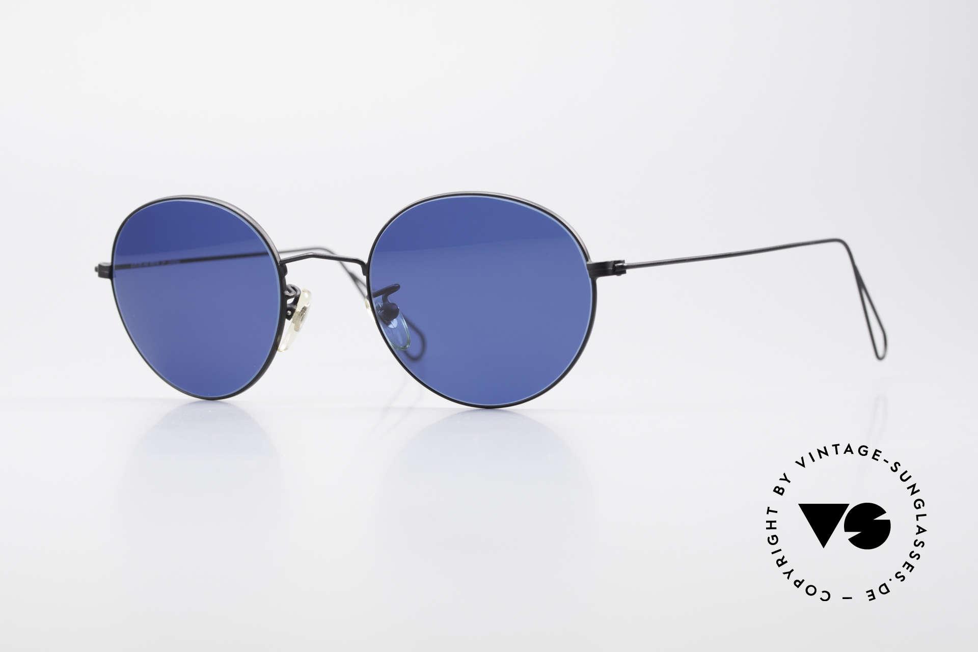 Cutler And Gross 0306 Runde 90er Vintage Brille, Cutler & Gross London Designerbrille der späten 90er, Passend für Herren und Damen