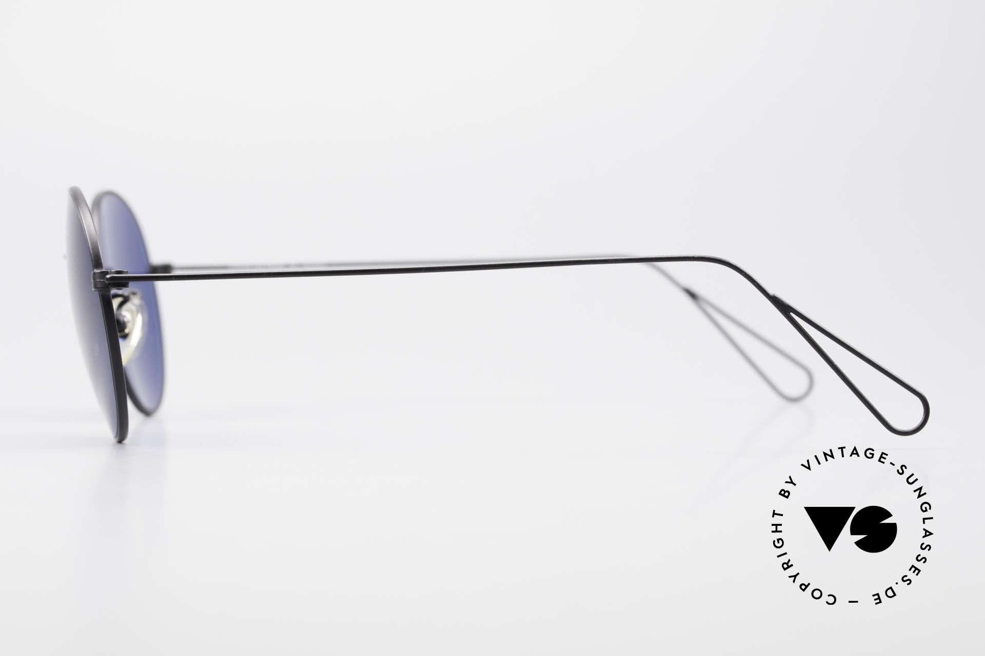 Cutler And Gross 0306 Runde 90er Vintage Brille, Materialien und deren Verarbeitung auf Spitzen-Niveau, Passend für Herren und Damen