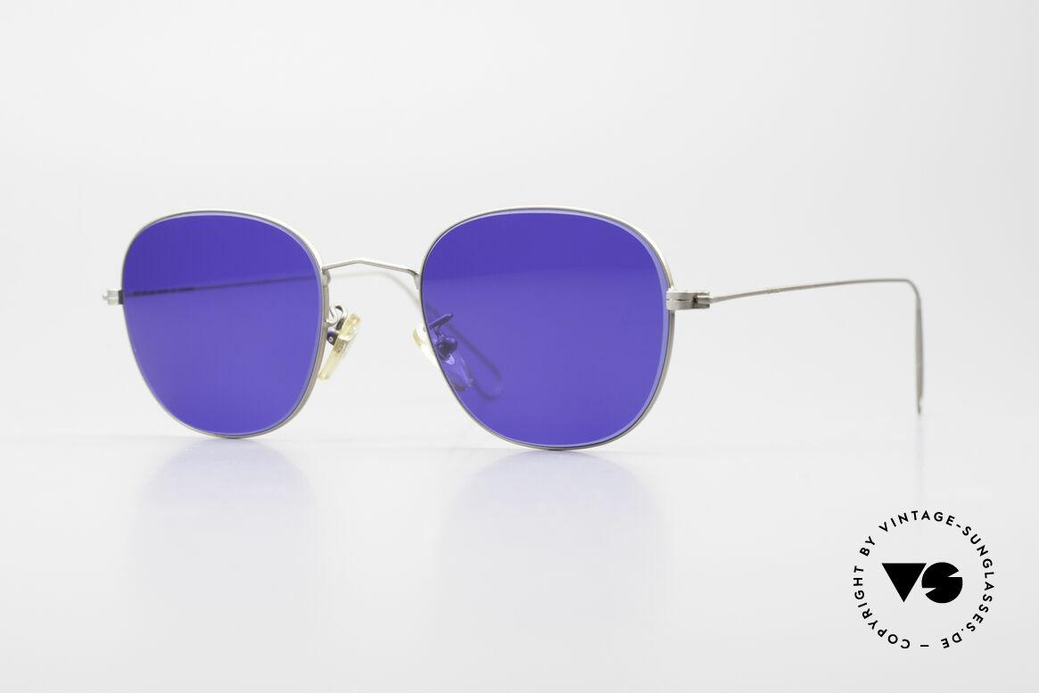 Cutler And Gross 0307 Klassische Vintage Brille 90er, Cutler & Gross London Designerbrille der späten 90er, Passend für Herren und Damen
