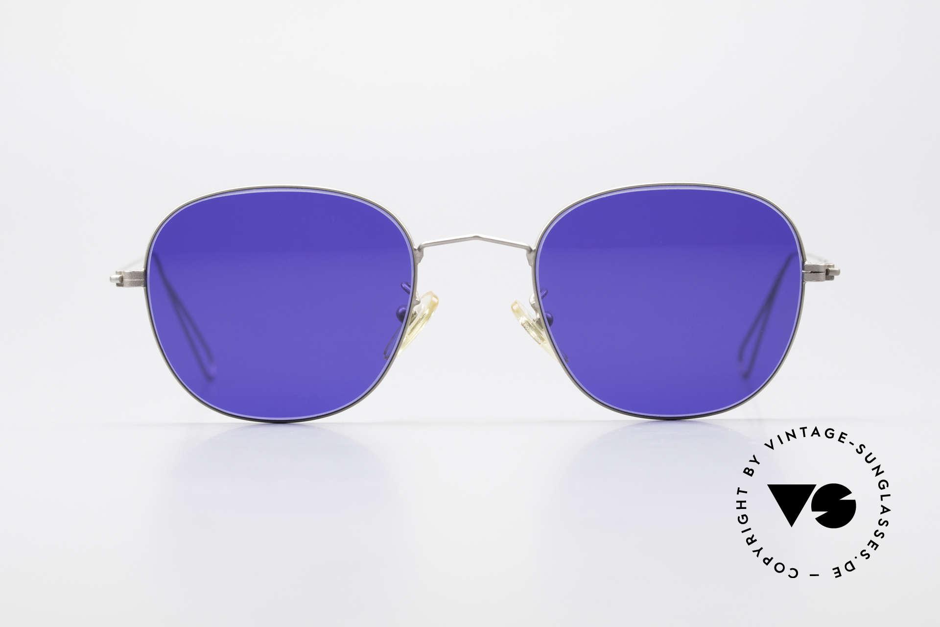 Cutler And Gross 0307 Klassische Vintage Brille 90er, klassisch, zeitlose Understatement Luxus-Sonnenbrille, Passend für Herren und Damen