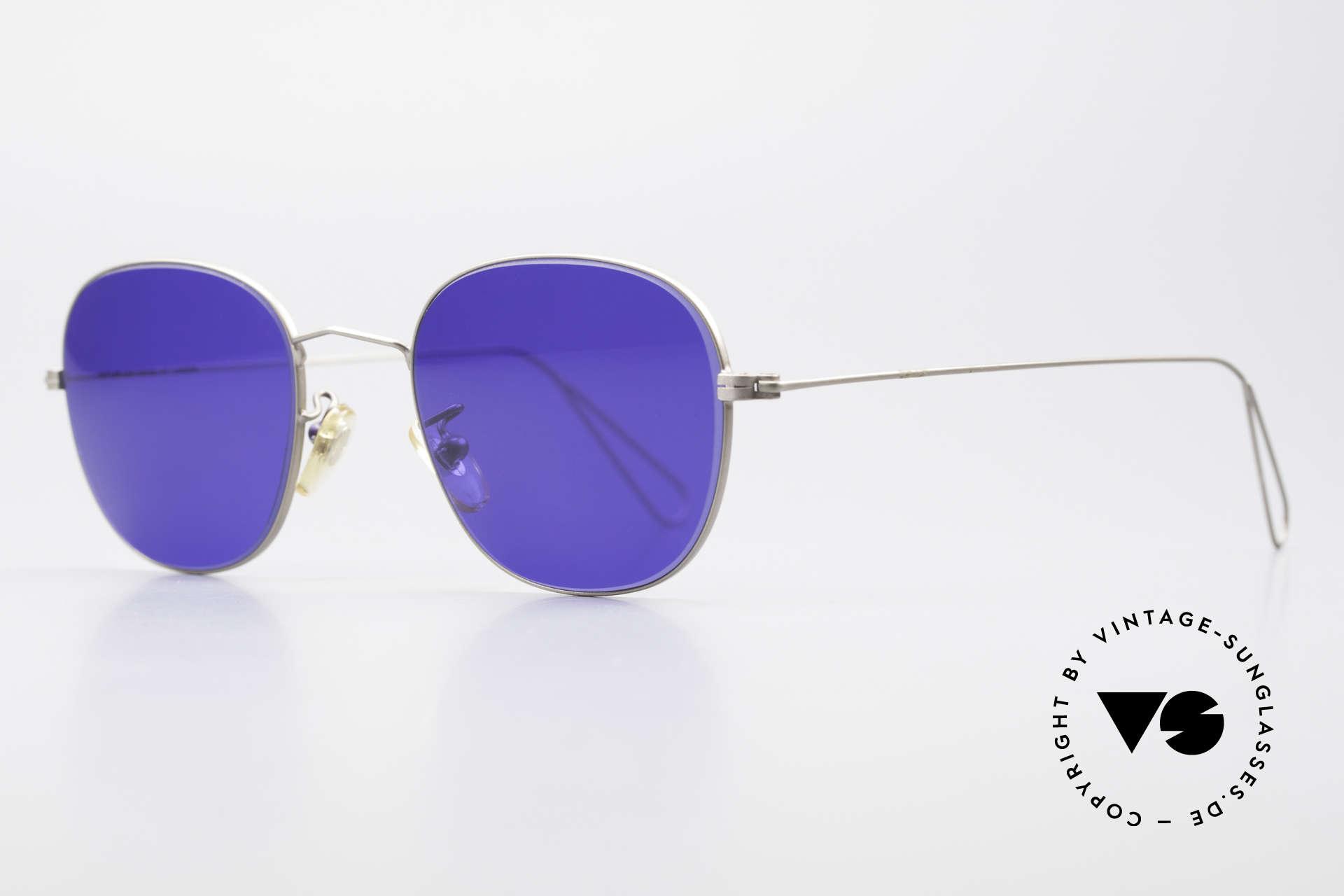 Cutler And Gross 0307 Klassische Vintage Brille 90er, stilvoll & unverwechselbar; auch ohne pompöse Logos, Passend für Herren und Damen